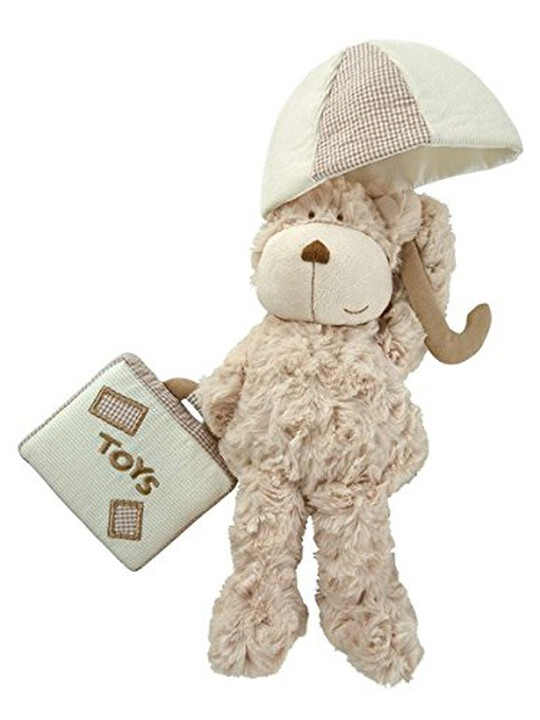 MUSICAL COT TOY - CRUMBLE BEAR image number 1