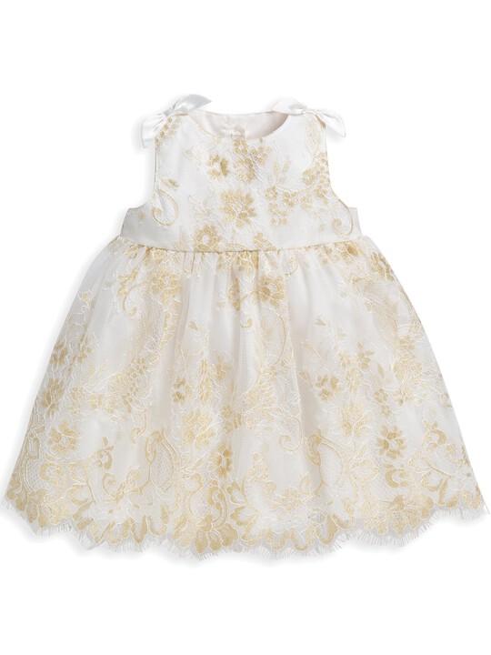 Lace Scalloped Hem Dress image number 1