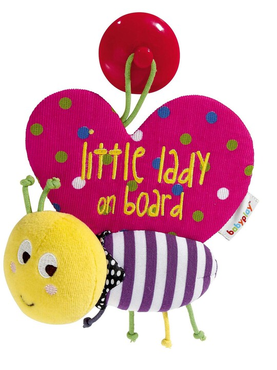 Babyplay - Baby On Board Butterfly image number 1