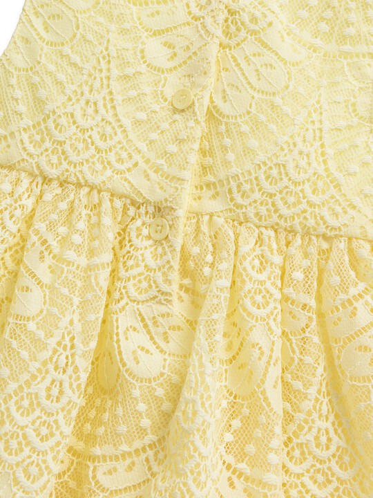 Yellow Lace Dress image number 2