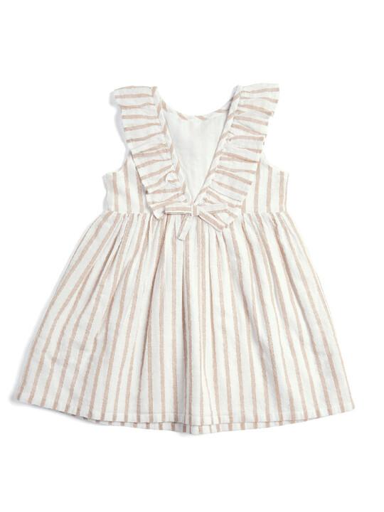 Metallic Striped Dress image number 3