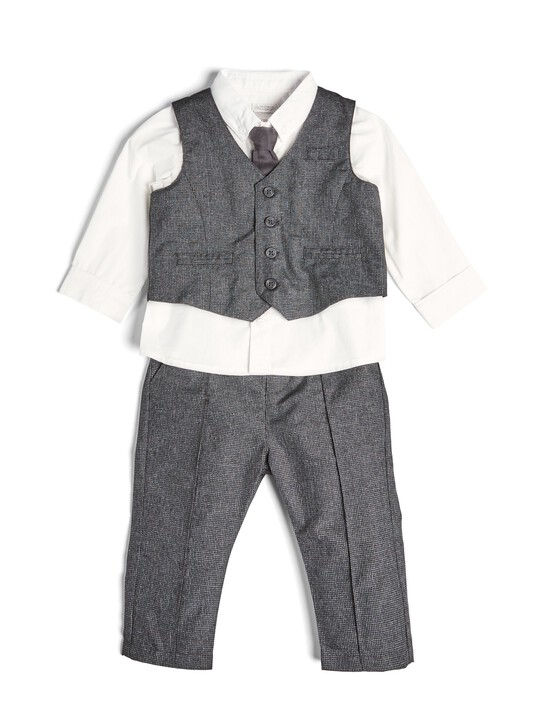 4 Piece Suit Set Grey image number 1