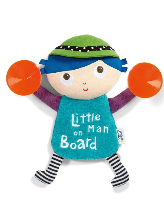 Babyplay - Little Man On Board Sign image number 1