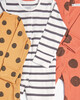 3 Pack of Large Spot Sleepsuits image number 2