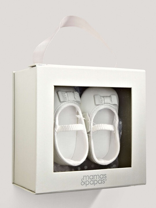 White Ballerina Shoes image number 2
