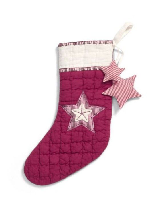 Small Red Star Stocking image number 1