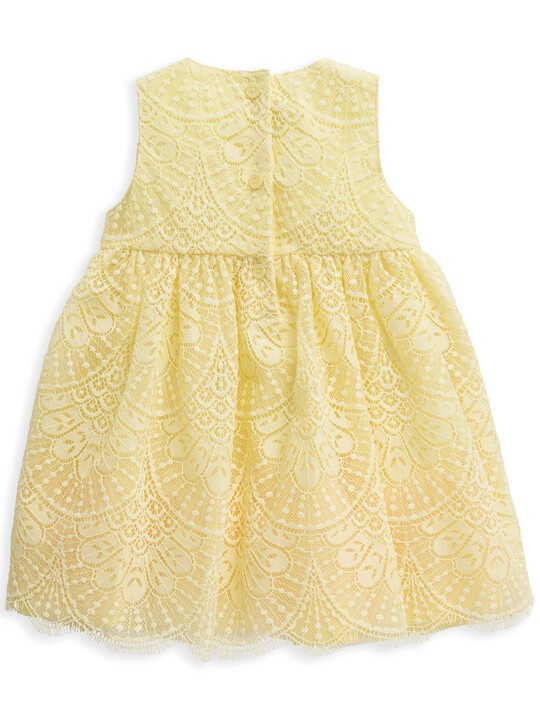 Yellow Lace Dress image number 4