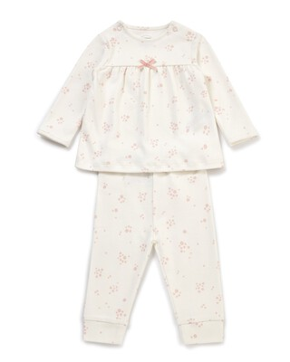 Floral Jersey Pyjamas
