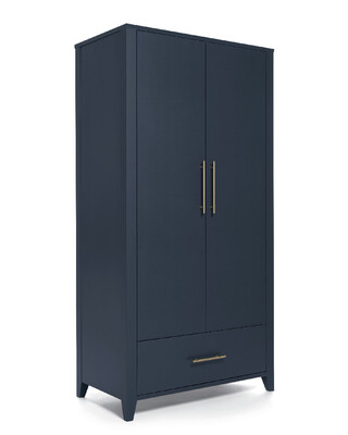 Melfi Full-Sized Wardrobe - Midnight