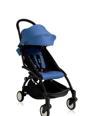 Babyzen stroller YOYO2 6+ Black Frame + Blue Color Pack