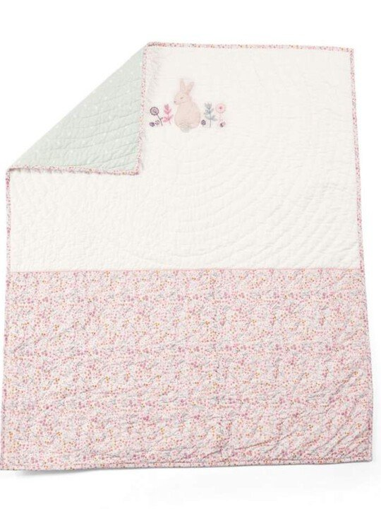 Lilybelle Coverlet Cotbed/Cot - Pink image number 1