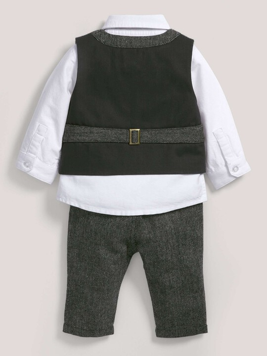 Occasion Speckle Waistcoat, Shirt, Bow Tie & Trousers Set image number 2