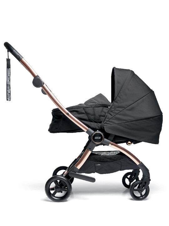 Airo Dusk with Rose Gold Frame Pushchair with Black Newborn Pack image number 5