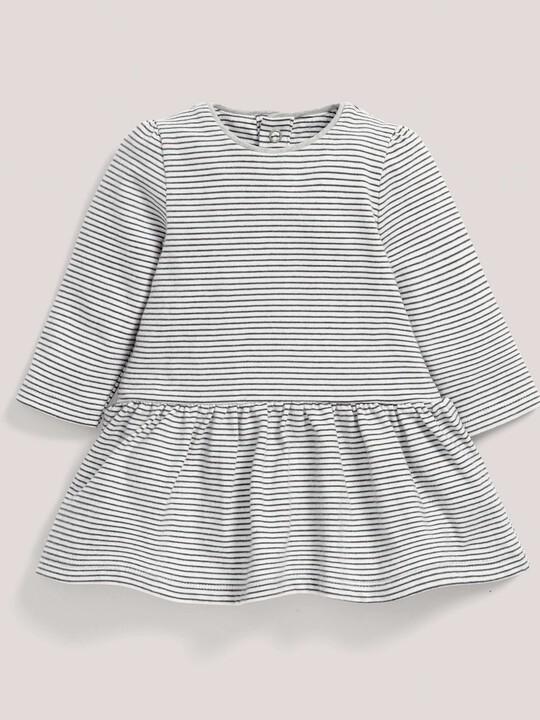 Striped Jersey Skater Dress image number 1