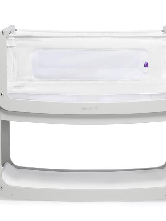 SnuzPod4 Bedside Crib - Haze Grey image number 2