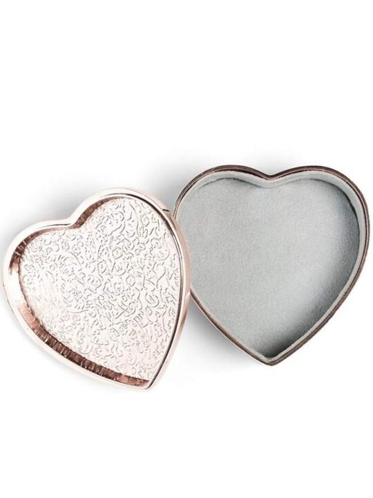 Rose Gold - Heart Trinket Box image number 2