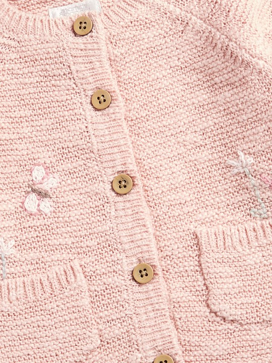 Embroidered Cardigan image number 3