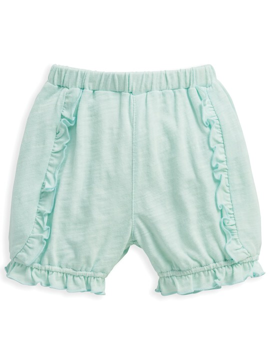Frill Shorts Blue image number 4