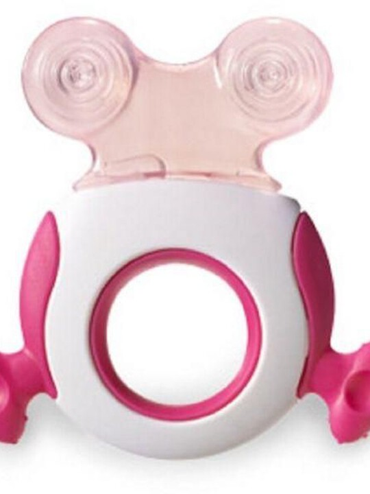 Tommee Tippee Closer to Nature Stage 2 Teether - Pink image number 1