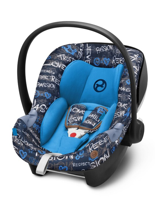 CYBEX Aton M i-Size - Trust Blue image number 1