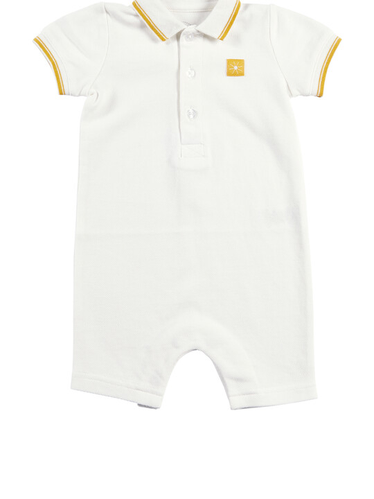 Polo Shortie Romper image number 1
