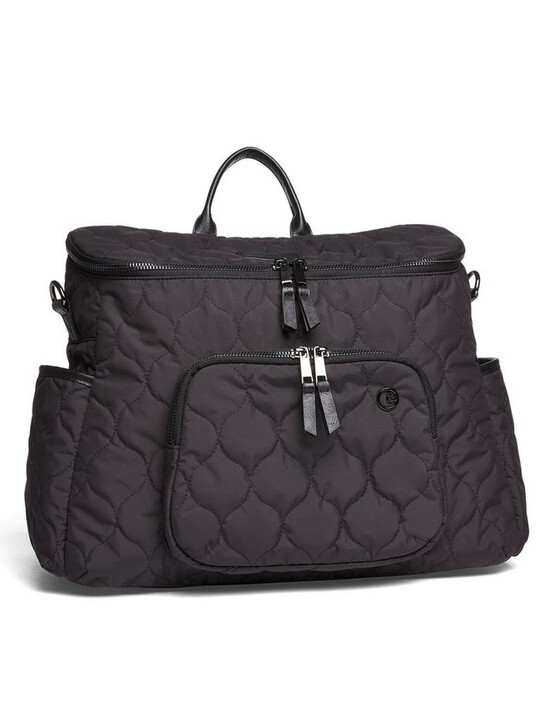2 Way Satchel Style Changing Bag - Black image number 1