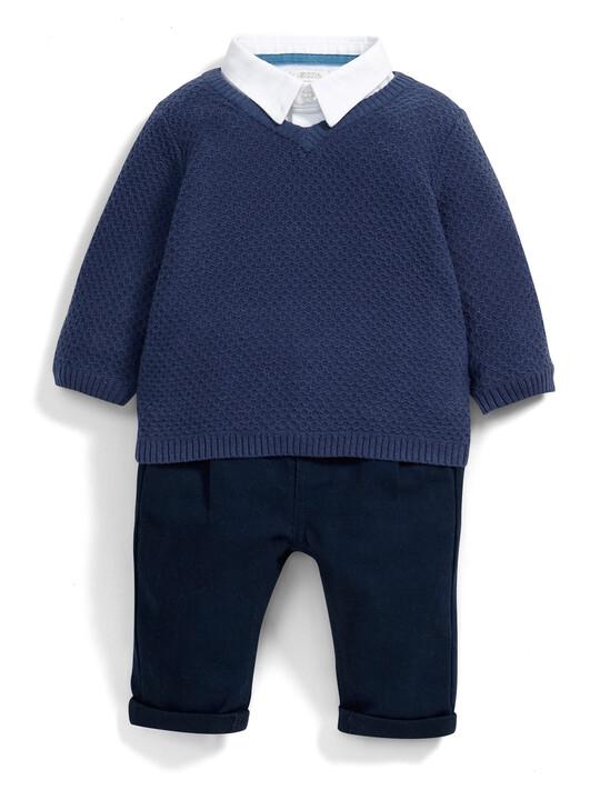 Jumper, Shirt and Trouser Set image number 1