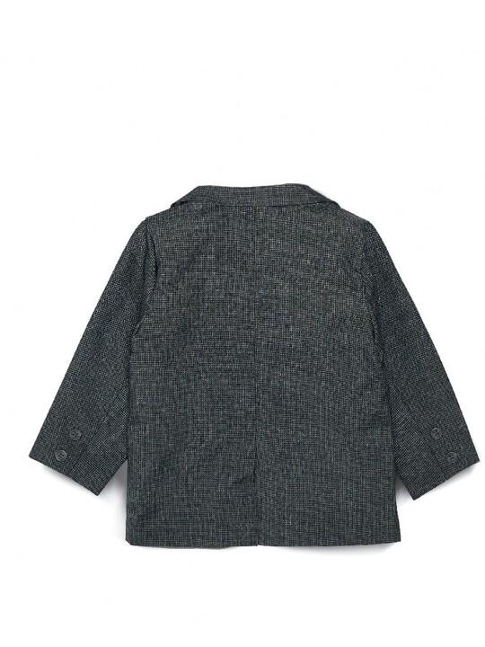 Woven Blazer Grey image number 3