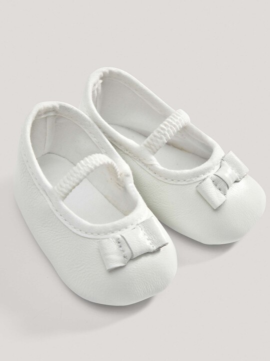 White Ballerina Shoes image number 1