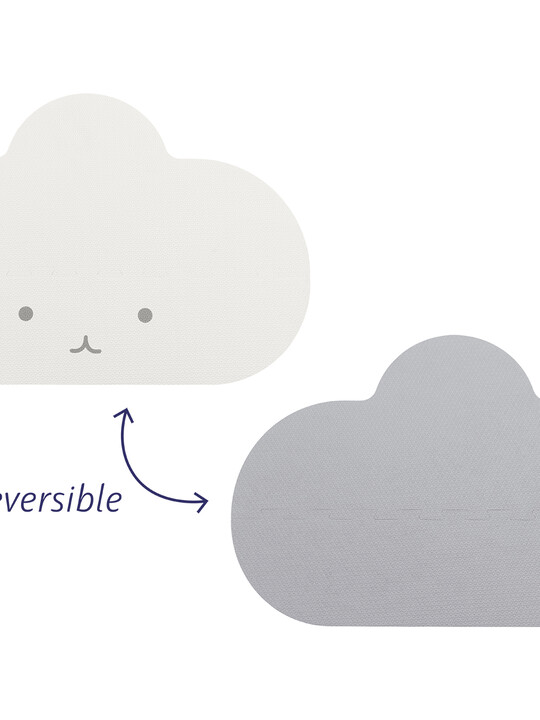 Quut Playmat Cloud Small Pearl Grey image number 4