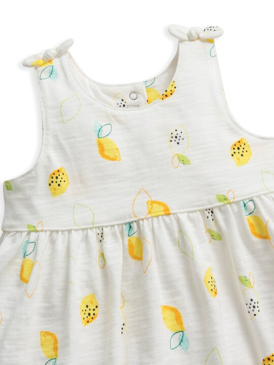 Lemon Print Jersey Dress image number 3