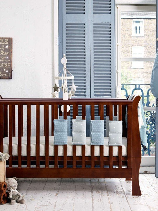 Millie & Boris - Boys Cot Bar Bumpers (pack of 8) image number 3