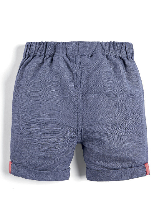 Embroidered Linen Shorts image number 2