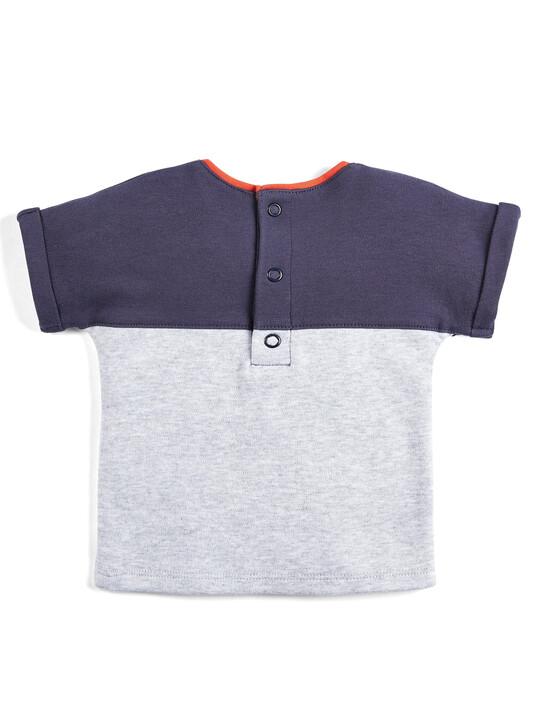 Colour Block T-Shirt image number 2