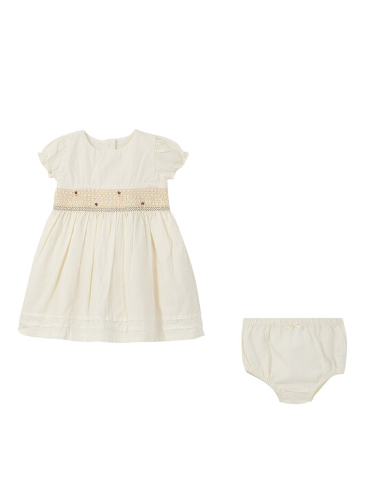 Smock Dress with Knickers - 2 Piece Set image number 2