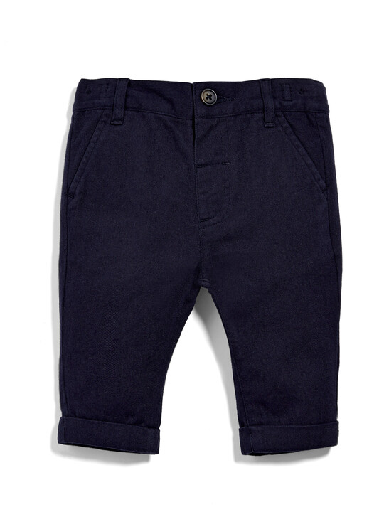 Navy Chinos image number 4