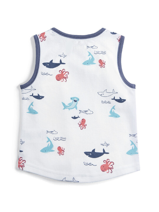 Vest Top - Sea Creatures image number 2