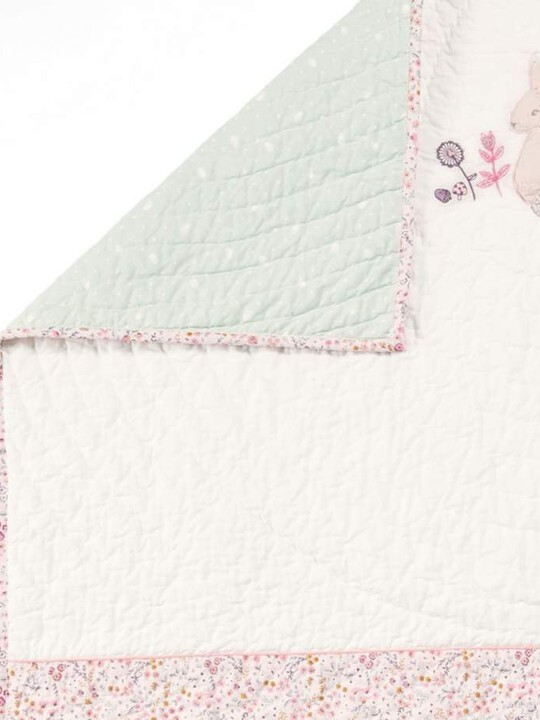 Lilybelle Coverlet Cotbed/Cot - Pink image number 2