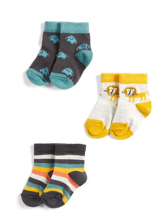 Lion Socks (3 Pack) image number 1
