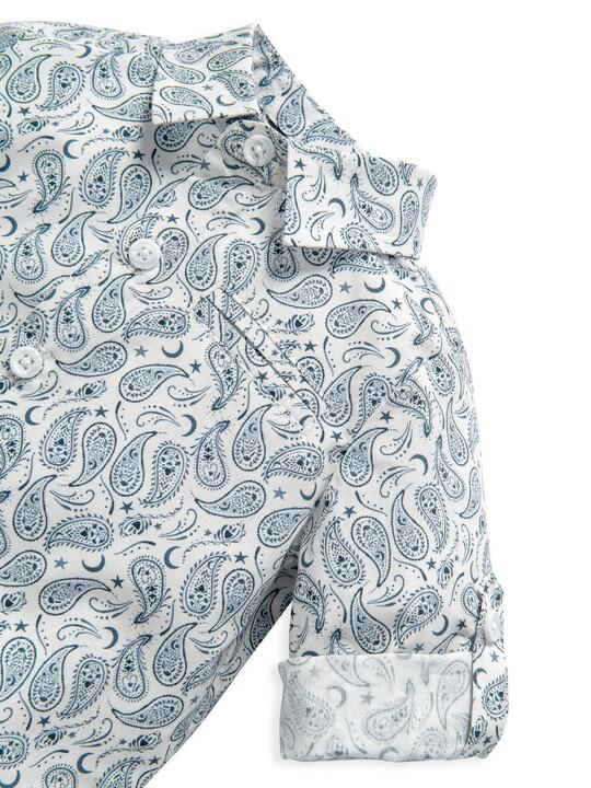 Ditsy Paisley Print Shirt image number 3