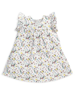 Jersey Floral Print Dress