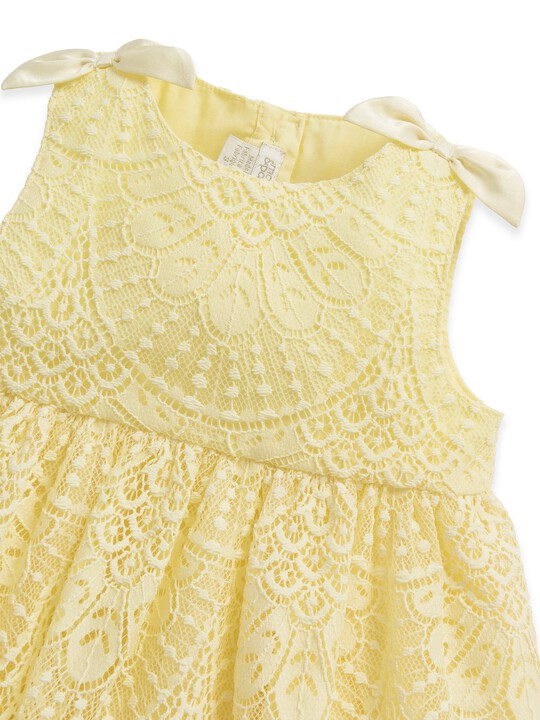 Yellow Lace Dress image number 3