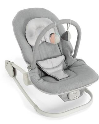Wave Rocker Baby Bouncer Chair - Grey Melange