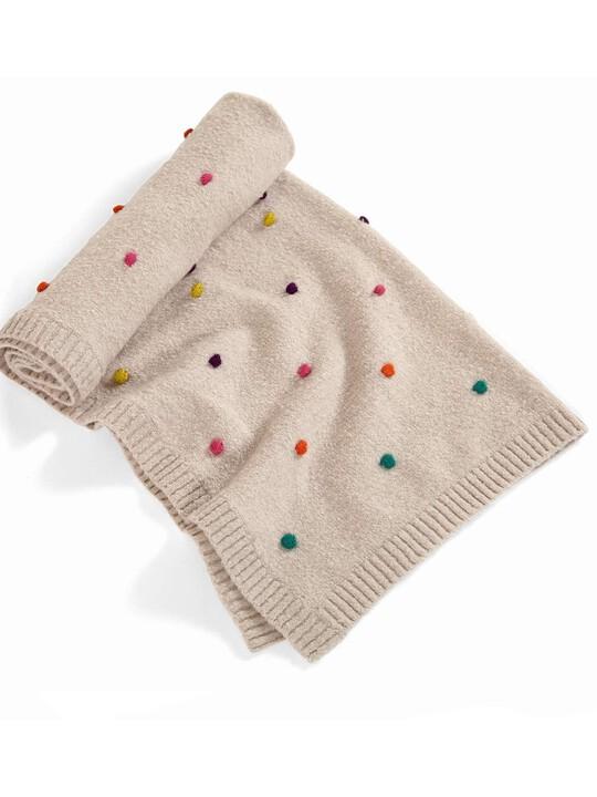 Zam Bee Zee - Knitted Blanket - 70 x 90cm image number 2