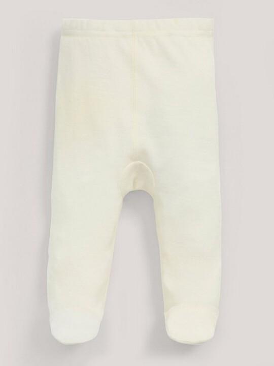 Merino Wool Leggings Cream- New Born image number 3