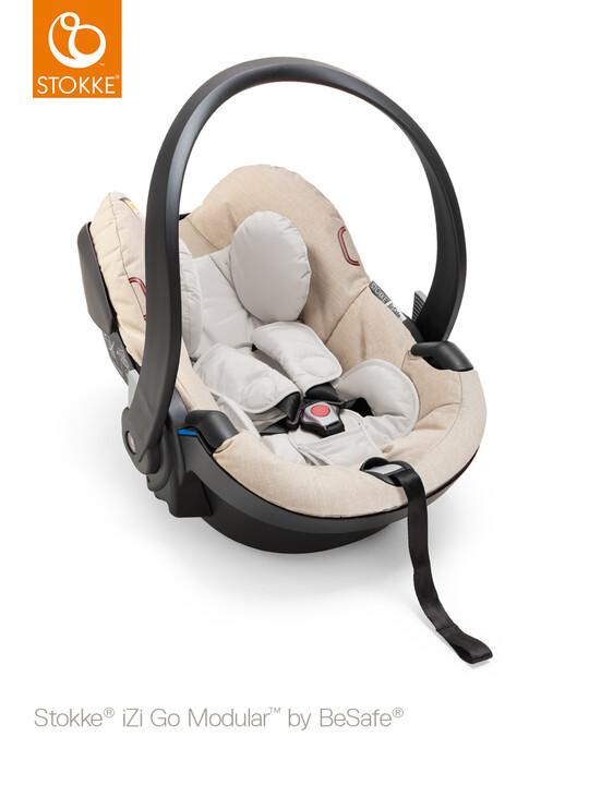Stokke® iZi Go Modular Car Seat - Beige Melange image number 1