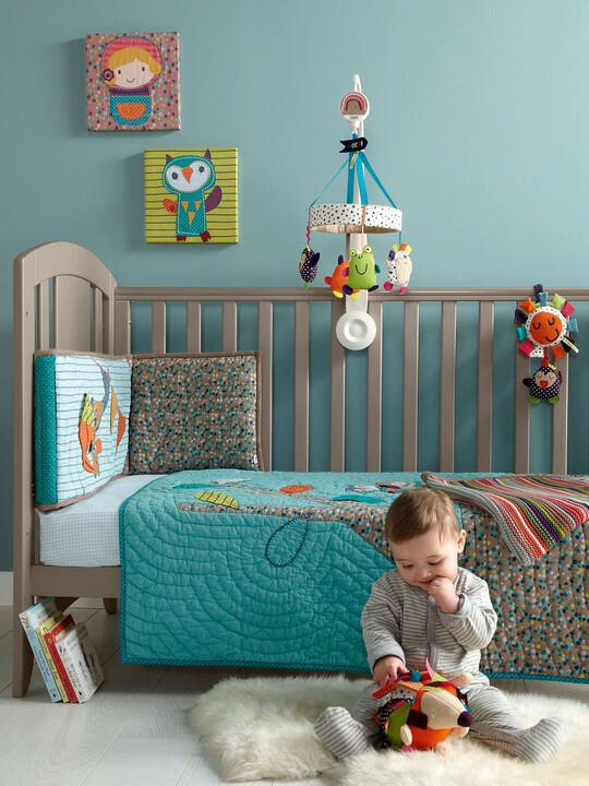 Timbuktales - Boys Cotbed Coverlet image number 1