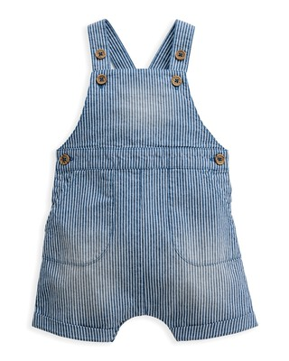 Striped Woven Dungaree