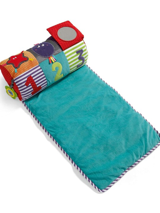 Babyplay - Tummy Time Activity Toy & Rug image number 4