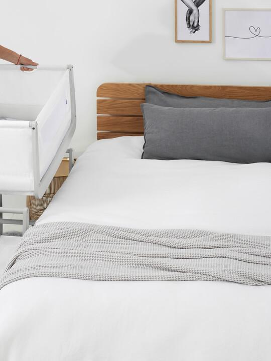 SnuzPod4 Bedside Crib - Haze Grey image number 5